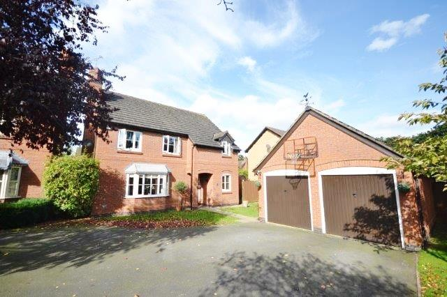 4 Bedrooms Detached House for sale in Bonner Close, Oadby, Leicester